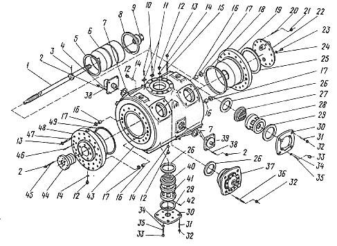 Количество на компрессор